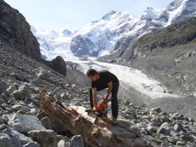 glacier moraine